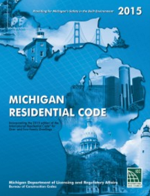 Michigan Residential Code Book 2015