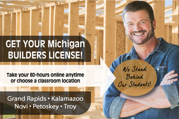 Get Your Builders License!